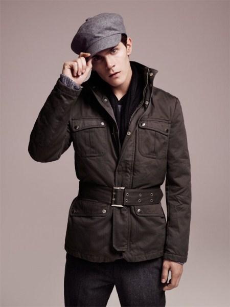 Blouson Fashion Homme Noir Ilannfive