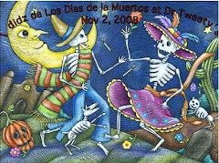 I didz da Dias de la Muertos at Dr Tweety'z