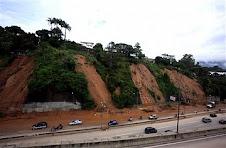 Derrumbes en Caracas por Lluvias