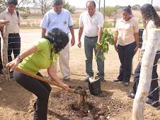 Empezando la siembra en Valle La Pascua