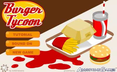 Burger Tycoon Flash Game for Smartphones S60v5 Mobile Downloads