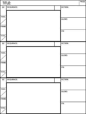 SQUAREMAN PRODUCTIONS: Final Storyboard Template
