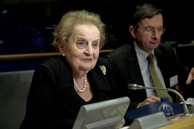 Madeleine Albright, Chair of NATO's Strategic Concept Expert Group at the European Parliament - 27/01/10 (Photo: European Parliament)