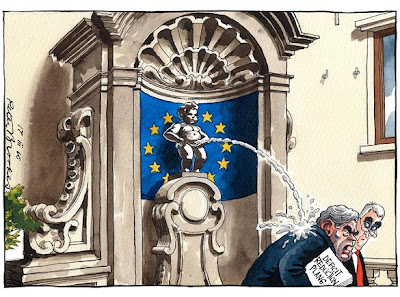 Peter Brooke's cartoon in today's Times (Photo: The Times)
