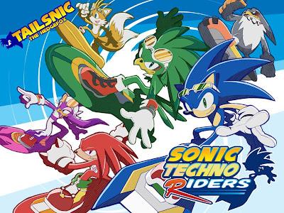 Sonic Techno Riders, portada oficial creada por Tailsnic the Hedgefox