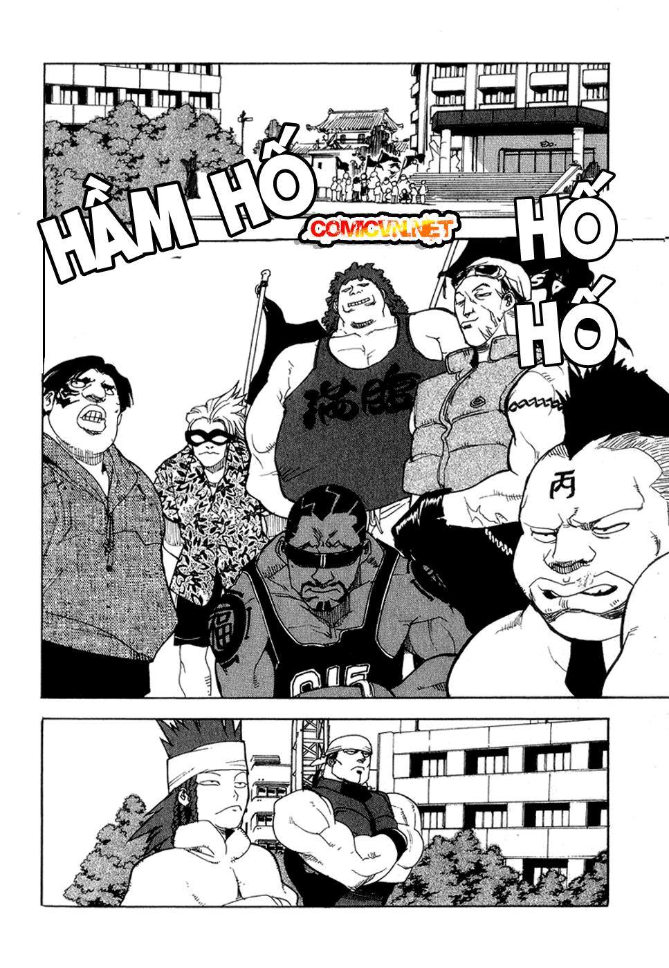 Aiki chap 35 - Trang 19