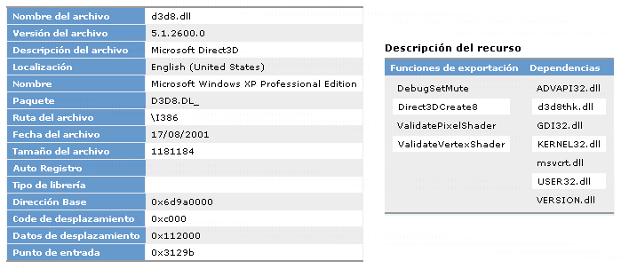 Microsoft DLL Help Database Image