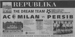 PERSIB Bandung vs AC Milan (Italia)