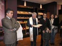 """Inauguração da loja                           """"Paz de Espírito"""""""