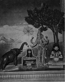 Swaati Nakshatra : Sri Akhilandeshwari Jambukeshwarar - Thiruvanaikaval