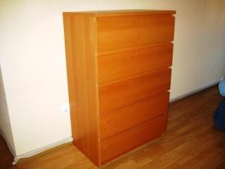 Las cosas de micromam como lacar un mueble - Como lacar un mueble de madera en blanco ...