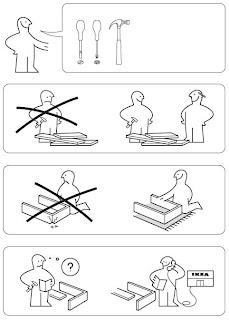 House of mystery le istruzioni di montaggio dei mobili ikea for Montaggio laminato ikea