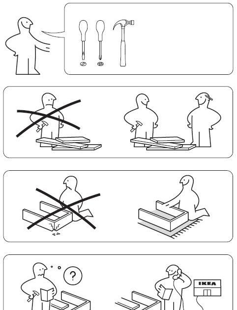 House of mystery le istruzioni di montaggio dei mobili ikea - Ikea montaggio mobili ...