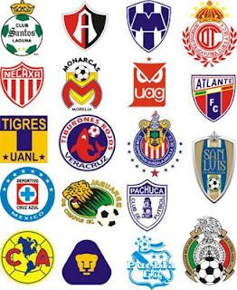 Escudo de los equipos del futbol mexicano 2010