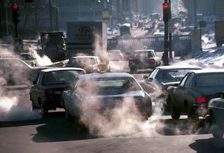 contaminacion de los autos