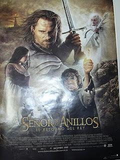 Posters del Señor de los Anillos