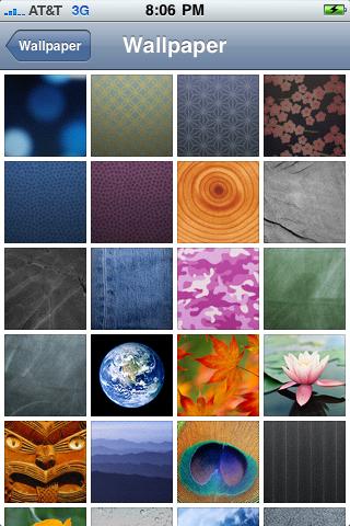 Brand New Wallpaper. the rand new homescreen