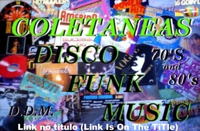 coletaneas disco funk music