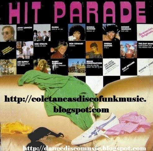 coletaneas disco funk music: HIT PARADE vol. 1 - 1981 ...