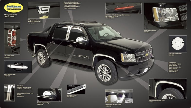 Chevy Avalanche Accessories 2010 Chevrolet Avalanche