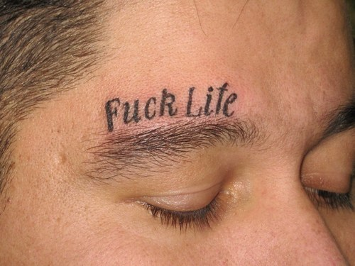eyebrow tattoo. free tattoo lettering styles.