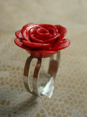 Carmen Crimson Rose Ring