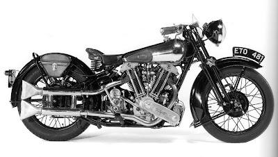 1938, Brough Superior 982cc SS100