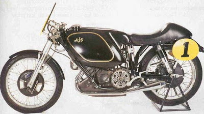 1954, AJS Porcupine