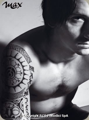 FootBall Player Tattoo - Zlatan Ibrahimovic Tattoos