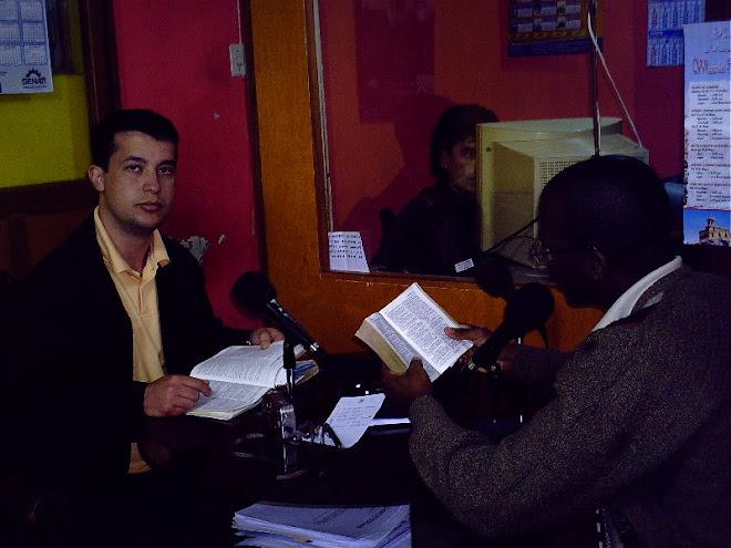 Pregação na rádio