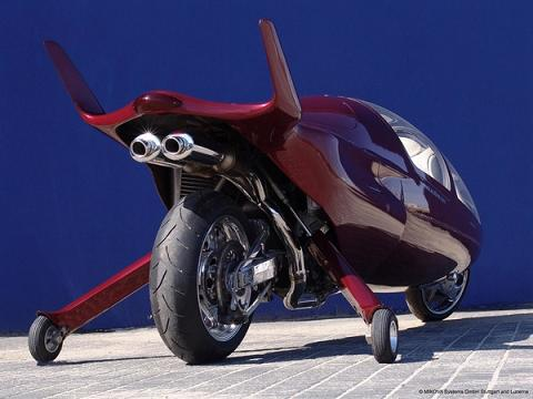 Acabion GTBO: 340 mph Enclosed Motorcycle Enters Production