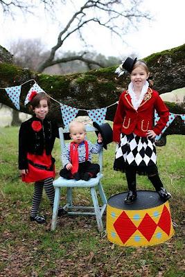 Цирк для детей прически