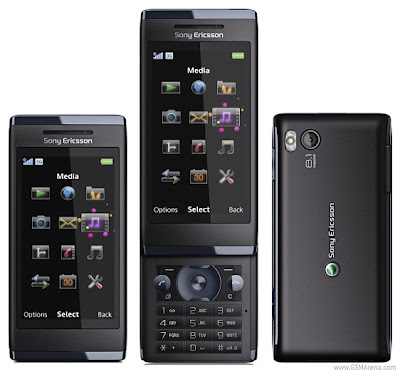 Sony Ericsson Aino 8.1 MP Touchscreen Phone