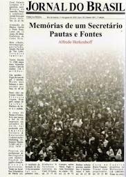 Jornal do Brasil, Memórias de um Secretário - Pautas e Fontes