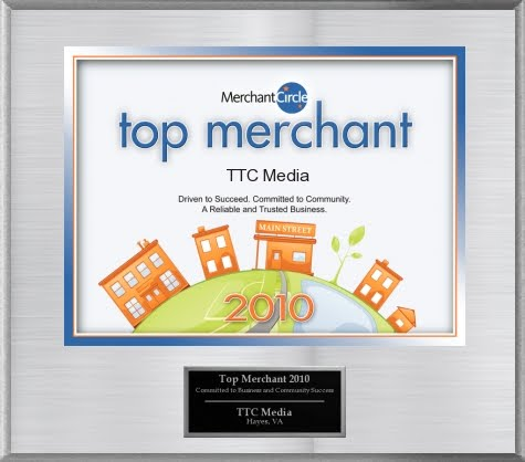 Top Merchant Award for 2010
