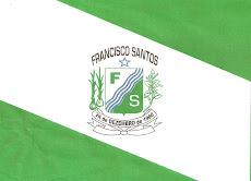Bandeira de Francisco Santos - PI