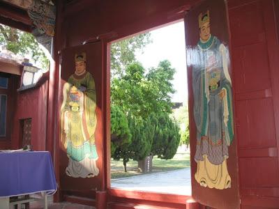 台南古蹟巡禮五妃廟