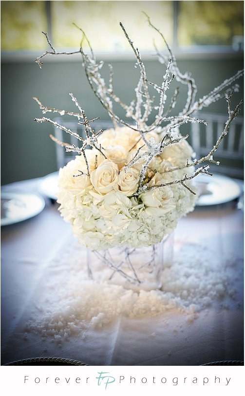 Fresh Centerpiece Ideas For A Winter Wedding Reception