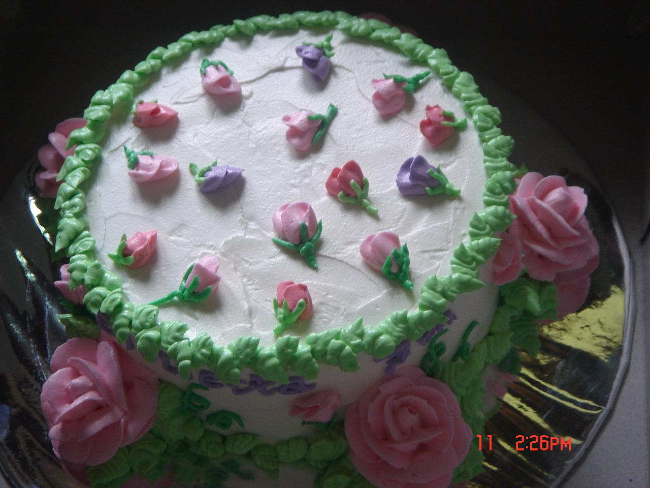 homemade: birthday cake for my little princess