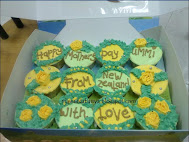 12 biji cupcakes (RM30)<br>Yellow Roses in the Garden~