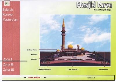 Rancangan Area Masjid Raya Pekanbaru