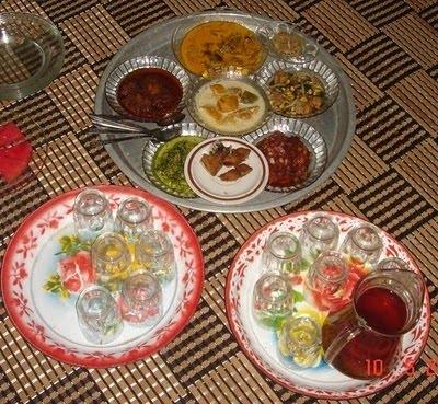 Hidangan Kenduri ala Melayu Indragiri