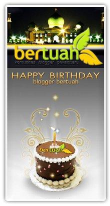 Blogger Pekanbaru, Happy Birthday