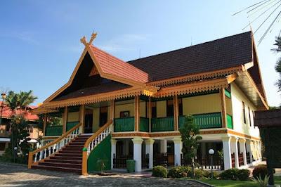 Pekanbaru Traditional House,Rumah Adat Pekanbaru