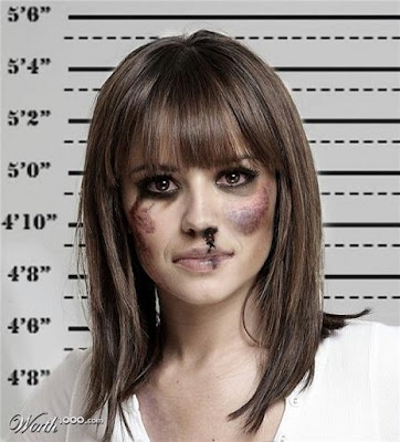 Cheryl-Cole, Photoshopped Celebrity Mugshots
