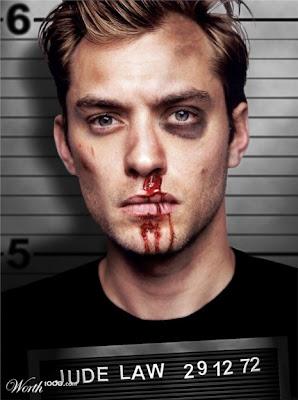 Jude-Law, Photoshopped Celebrity Mugshots