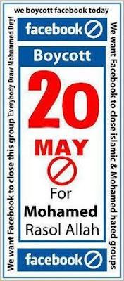 Boycott Facebook 20 Mei 2010