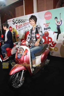 Honda Scoopy, Style Motor Retro
