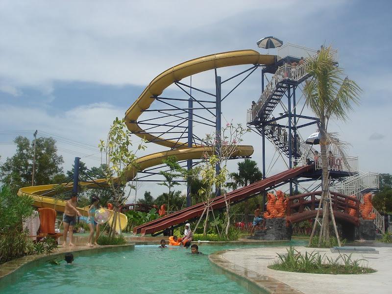 Water Park Kuantan Regency Pekanbaru
