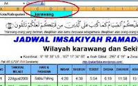 Download Jadwal Imsakiyah Riau Sekitarnya